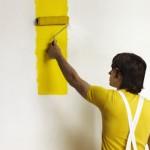 geel schilderen